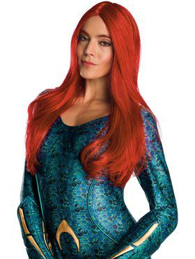 Adult Aquaman Movie Mera Secret Wishes Wig