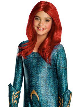 Kid's Aquaman Movie Mera Wig
