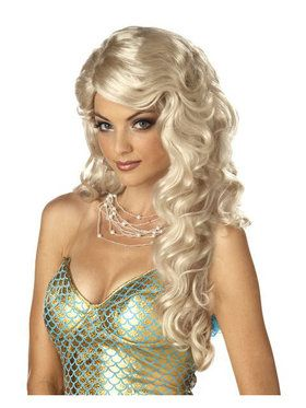 Mermaid Blonde Wig Adult