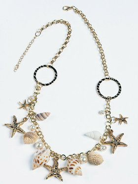 Mermaid Necklace Costume Accessory