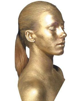 Metal Mania Gold Face/body Makeup