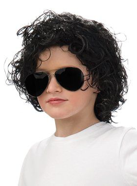 Michael Jackson Curly Wig For Children