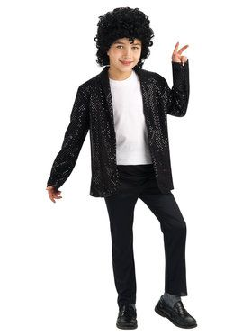 Michael Jackson Deluxe Billie Jean Jacket For Children