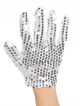 Michael Jackson Silver Glove For Children