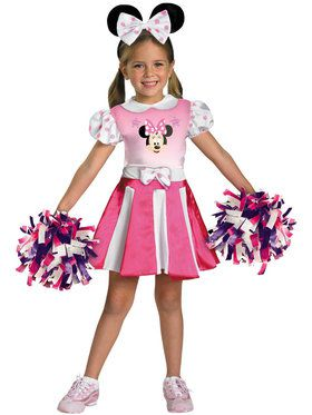 Mickey Mouse Clubhouse - Minnie Mouse Cheerleader Costume For Toddlers