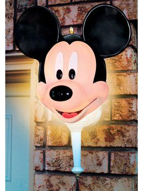 Mickey Mouse Porch Light Cover