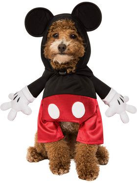 Mickey Mouse Walker Costume For Pets