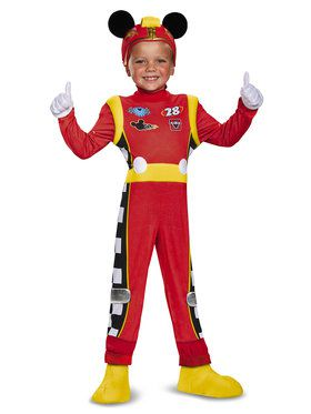 Mickey Mouse Roadster Racers Deluxe Mickey Roadster Costume For Kids