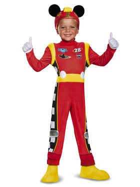 Mickey Mouse Roadster Racers Deluxe Mickey Roadster Costume -Toddlers