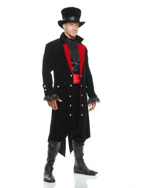 Adult's Midnight Vampire Costume