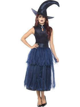 Adult Midnight Witch Deluxe Costume