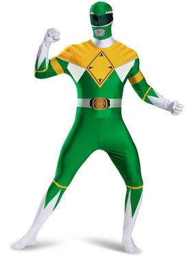 Mighty Morphin Power Rangers: Green Ranger Adult Bodysuit Costume