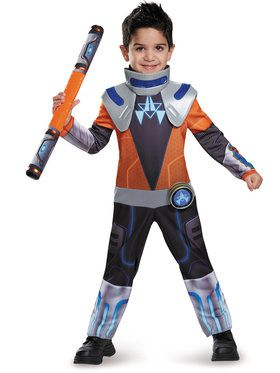 Miles From Tomorrow Land Miles Chrome Classic Girls Costume