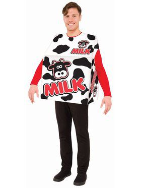 Milk Adult O/S Costume
