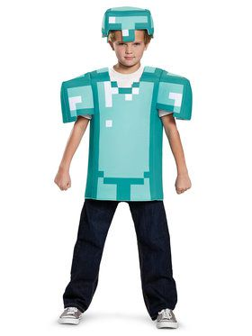 Minecraft Armor Classic Child Costume