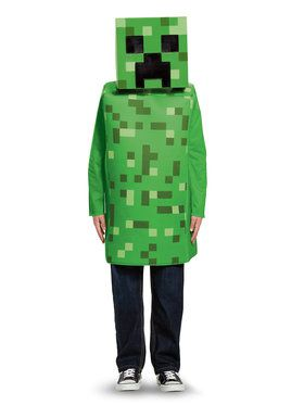 Child Classic Creeper Minecraft Costume