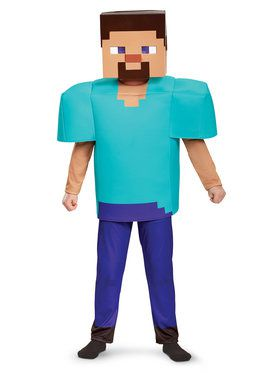 Minecraft Steve Deluxe Child Costume