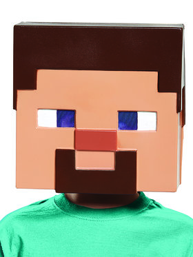 Minecraft - Steve Vacuform Child Mask