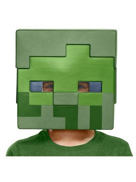 Minecraft Zombie Child Half Mask