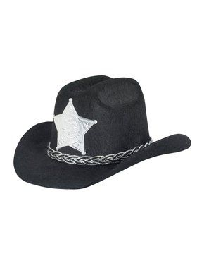 Mini Cowboy Adult Black Hat