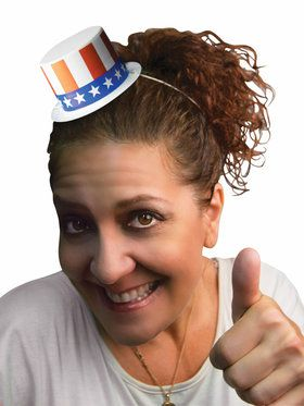 Mini Patriotic Adult Top Hat