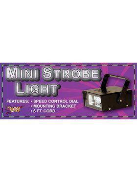 Miniature Strobe Light