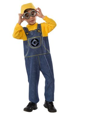 Minion Boys Costume