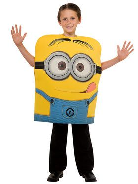 Minion Dave Foam Boy's Costume