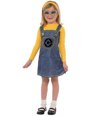 Minion Girl's Costume
