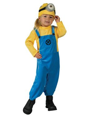 Minion Mel Costume For Toddlers