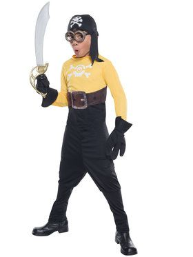Minion Pirate Boys Costume