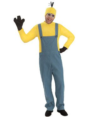 Minions Movie: Kevin Mens Jumpsuit Costume