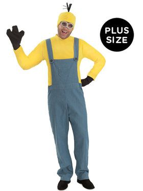 Minions Kevin Jumpsuit Plus Costume