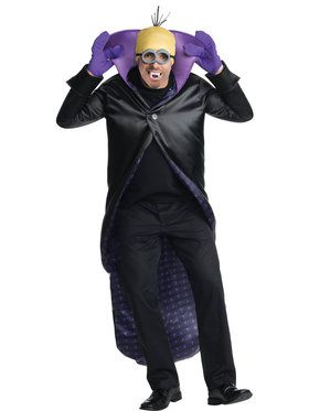 Minions Movie: Dracula Minion Adult Costume