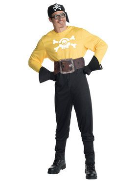 Minions Movie: Pirate Minion Adult Costume