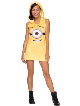 Minions Movie: Hooded Tank Minion Dress