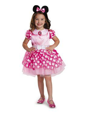 Minnie Mouse Pink Minnie Mouse Costume for Toddlers