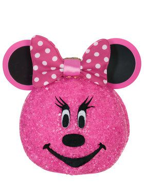 Minnie Mouse Sparkling Pumpkin