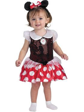Minnie Mouse Toddler Infant Costume