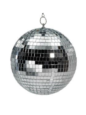 "Mirror Ball - 8"" With Color Box"