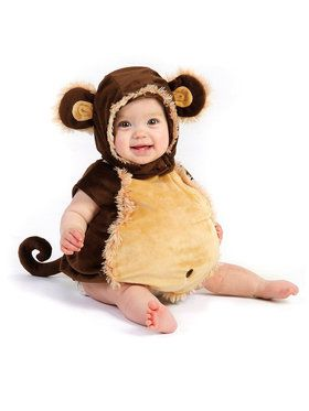 Mischievous Monkey Costume For Toddlers