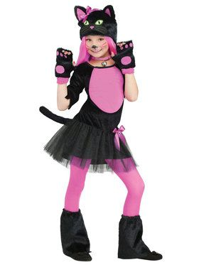 Miss Kitty Costume For Children
