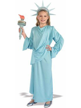 Miss Liberty Child Costume