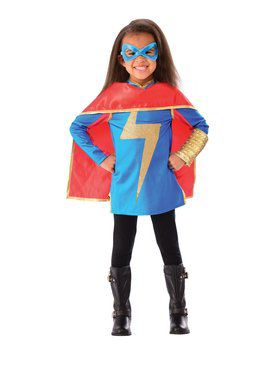 Miss Marvel Dress Up Costume Set