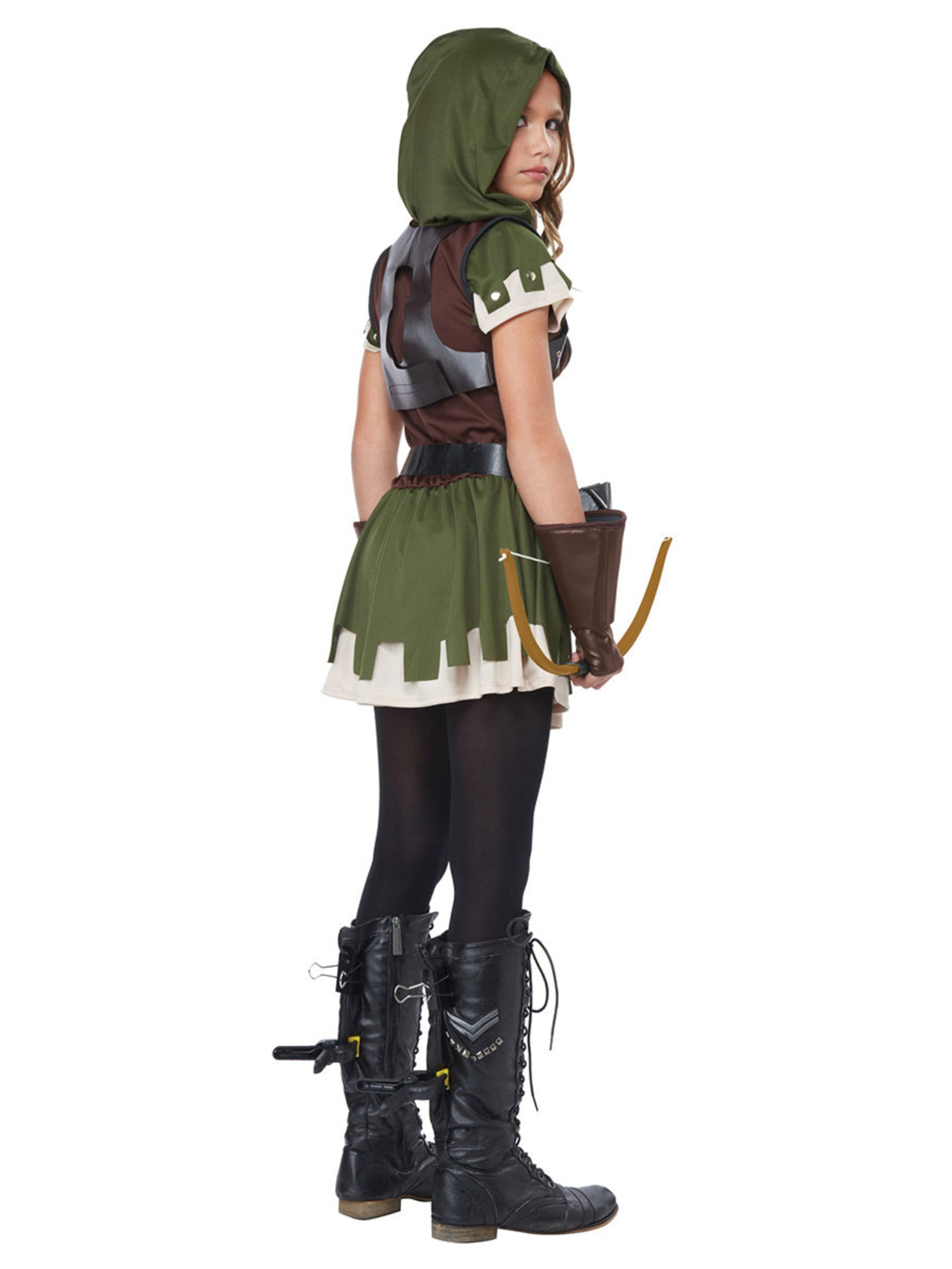 ad5ab803c06 Miss Robin Hood Girls Costume. View Larger Image. Larger View of Product   Larger View of Product  Larger View of Product ...
