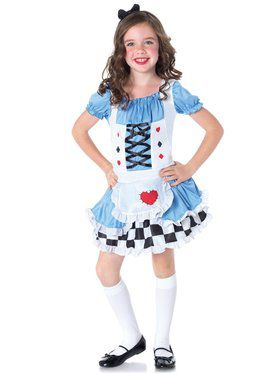 Miss Wonderland Girl's Costume