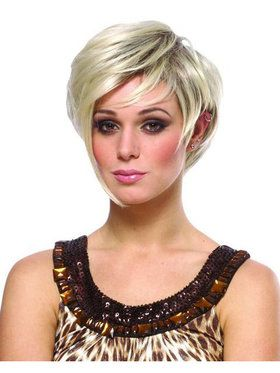 Mixed Blonde Victoria Wig Adult
