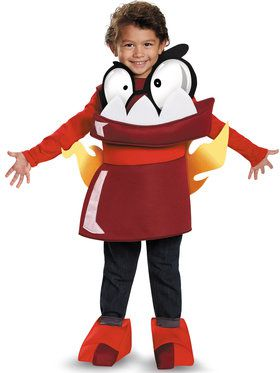 Mixels Infernite Zorch Costume Toddler