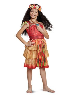 Moana Deluxe Epilogue Costume for Children
