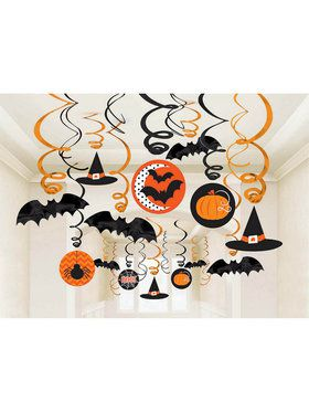 Modern Halloween Swirl Decorating Kit (Each)
